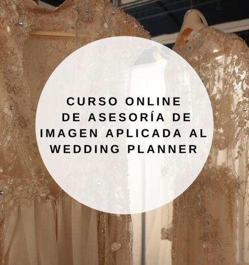 Curso online Asesoría de Imagen aplicada al wedding planner