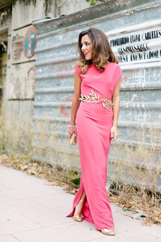 Increíble Vestido De Cambio Invitado A La Boda Ideas Ornamento ...