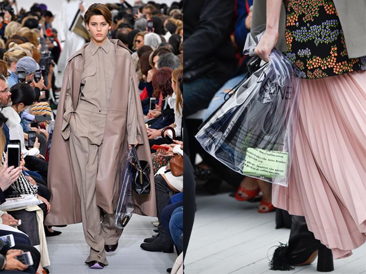 Trend Alert: Plastic Bag