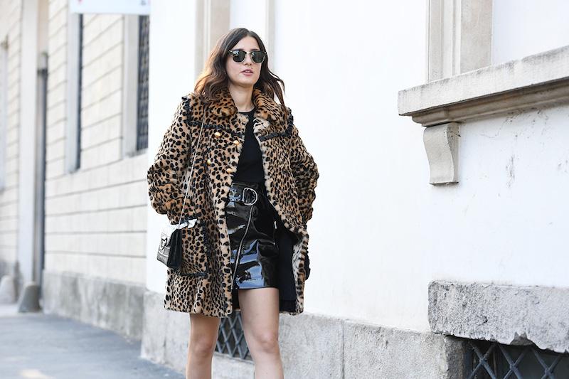 Mandatory Credit: Photo by REX/Shutterstock (9080333du) Eleonora Carisi Street Style, Spring Summer 2018, Milan Fashion Week, Italy  - 22 Sep 2017