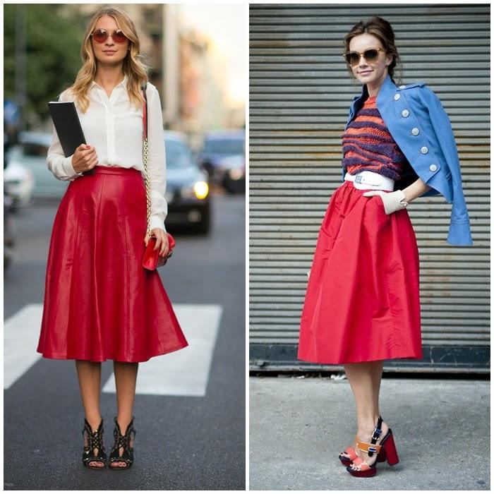 Falda midi: Manual de uso