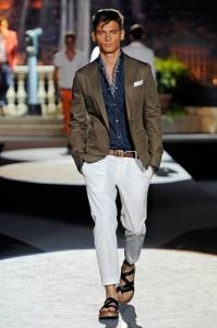 sandalia hombre estilo romano formal
