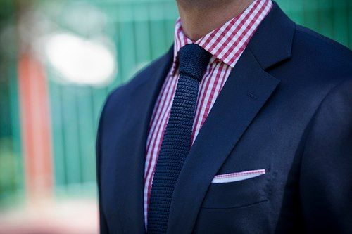 camisa rayas y corbata