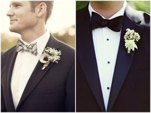 look boda pajarita formal