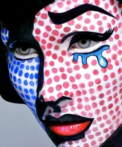 disfraz pop art