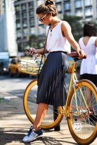 look falda y tennis