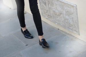zapato masculino negro