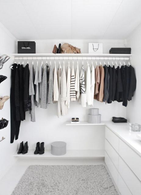 Consejos para organizar el armario de invierno