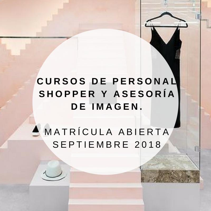 Cursos presenciales de Personal shopper y Asesoría de Imagen